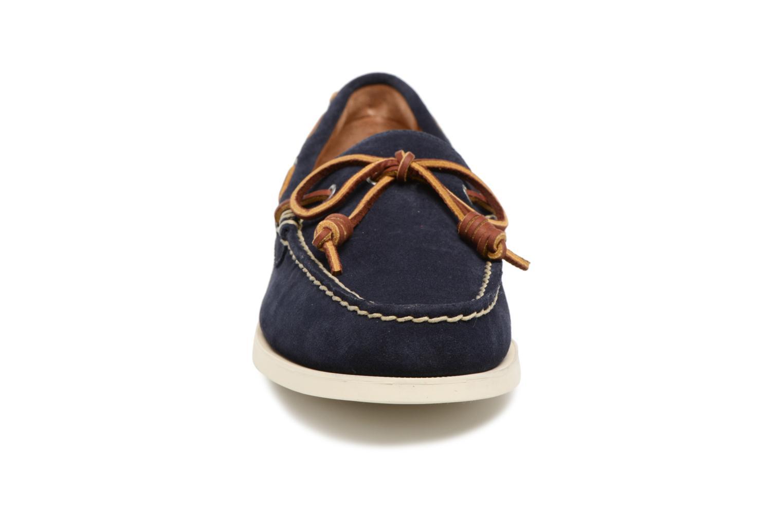 Lace-up shoes Polo Ralph Lauren Millard Blue model view