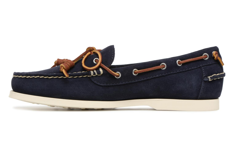 Lace-up shoes Polo Ralph Lauren Millard Blue front view