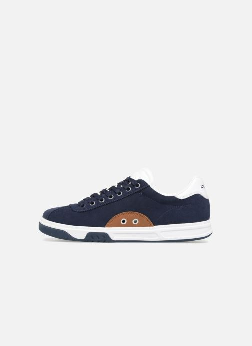 Baskets Polo Ralph Lauren Court100 Bleu vue face