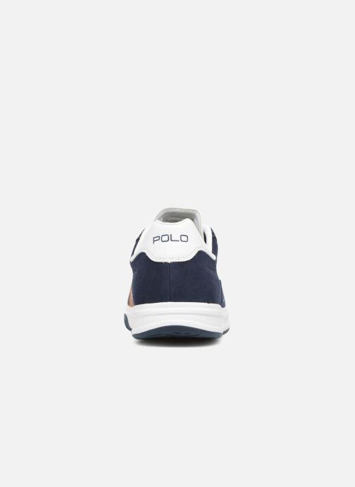 Baskets Polo Ralph Lauren Court100 Bleu vue droite