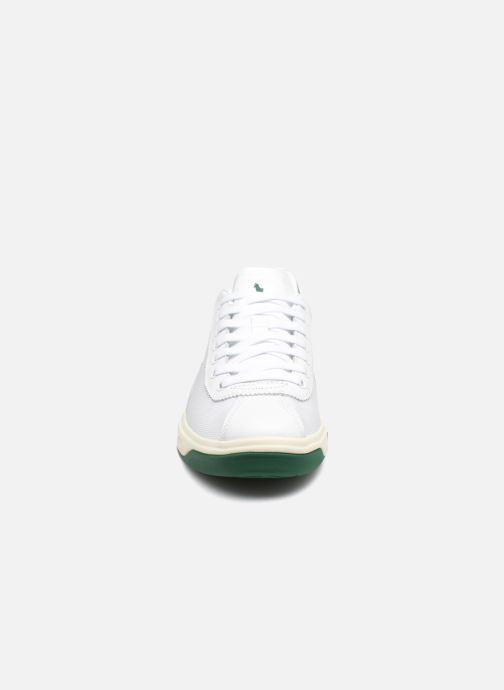 Baskets Polo Ralph Lauren Court100 Blanc vue portées chaussures