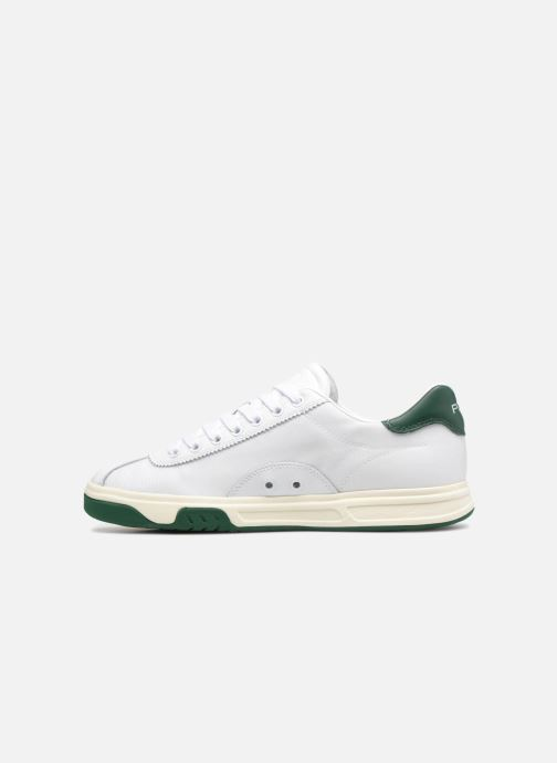 Baskets Polo Ralph Lauren Court100 Blanc vue face
