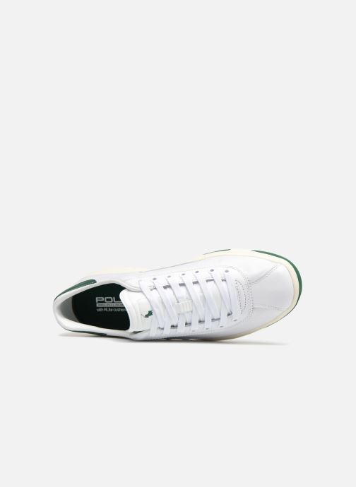 Baskets Polo Ralph Lauren Court100 Blanc vue gauche