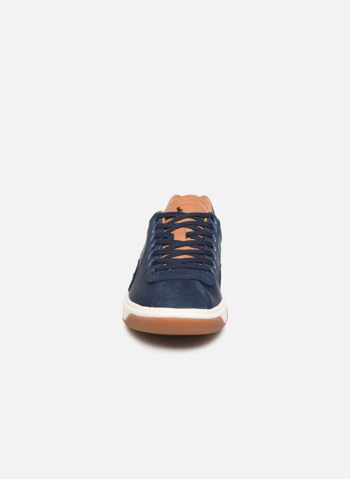 Baskets Polo Ralph Lauren Court100 Bleu vue portées chaussures
