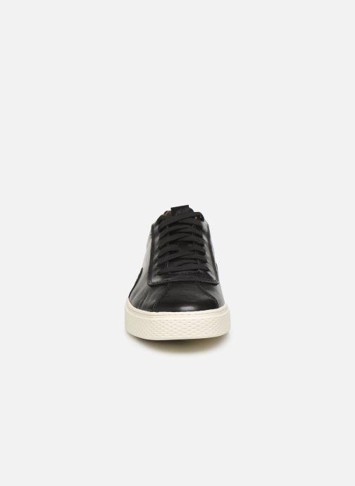 Baskets Polo Ralph Lauren Court100 Noir vue portées chaussures