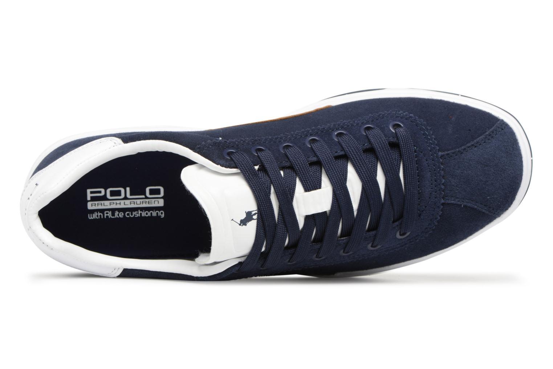 Baskets Polo Ralph Lauren Court100 Bleu vue gauche