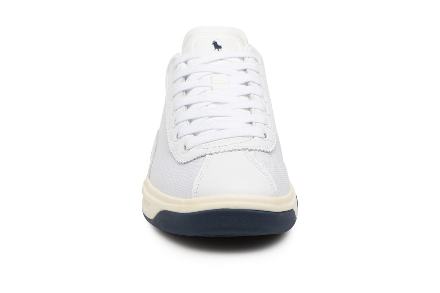 Trainers Polo Ralph Lauren Court100 White model view