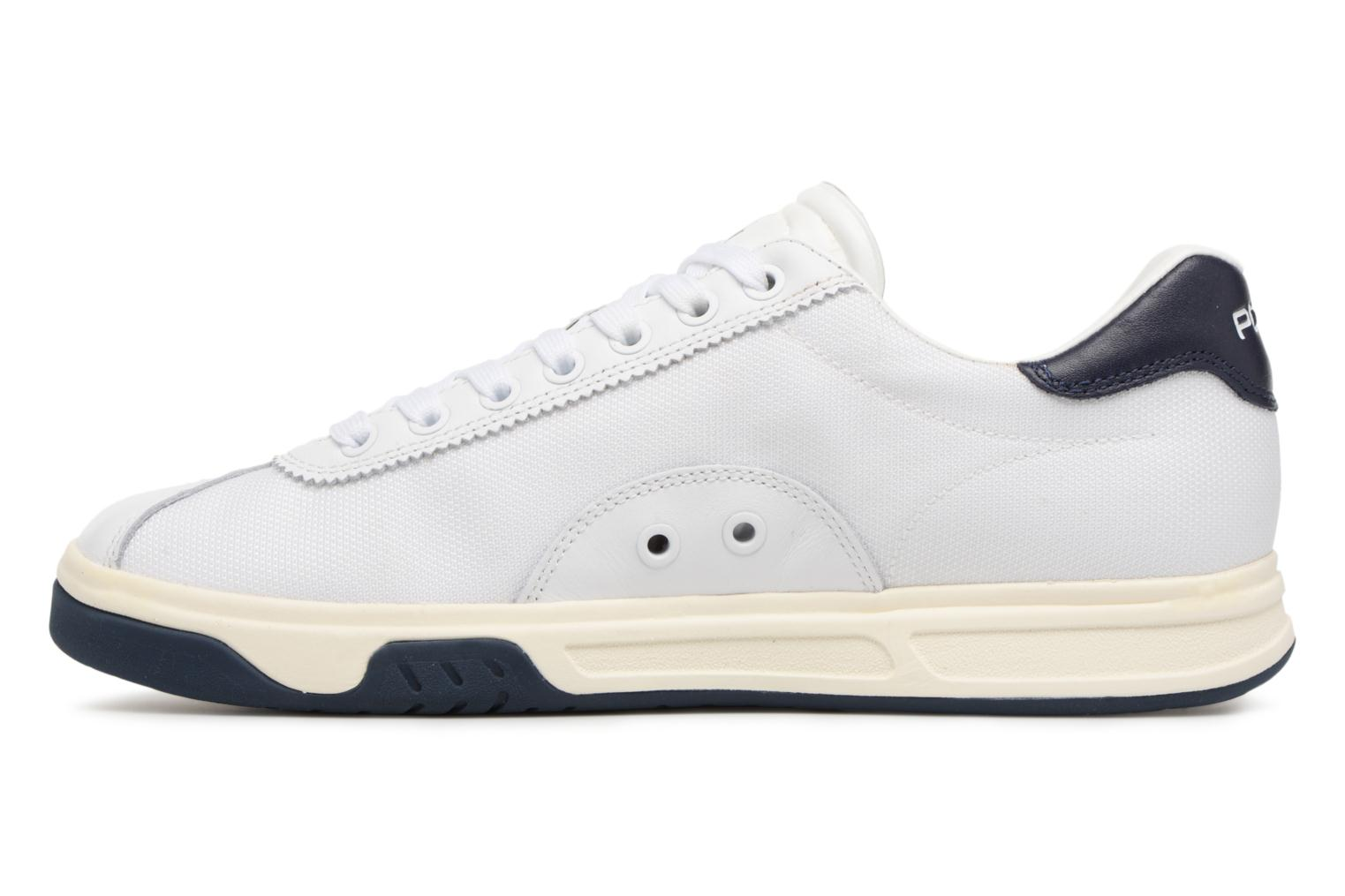 Trainers Polo Ralph Lauren Court100 White front view