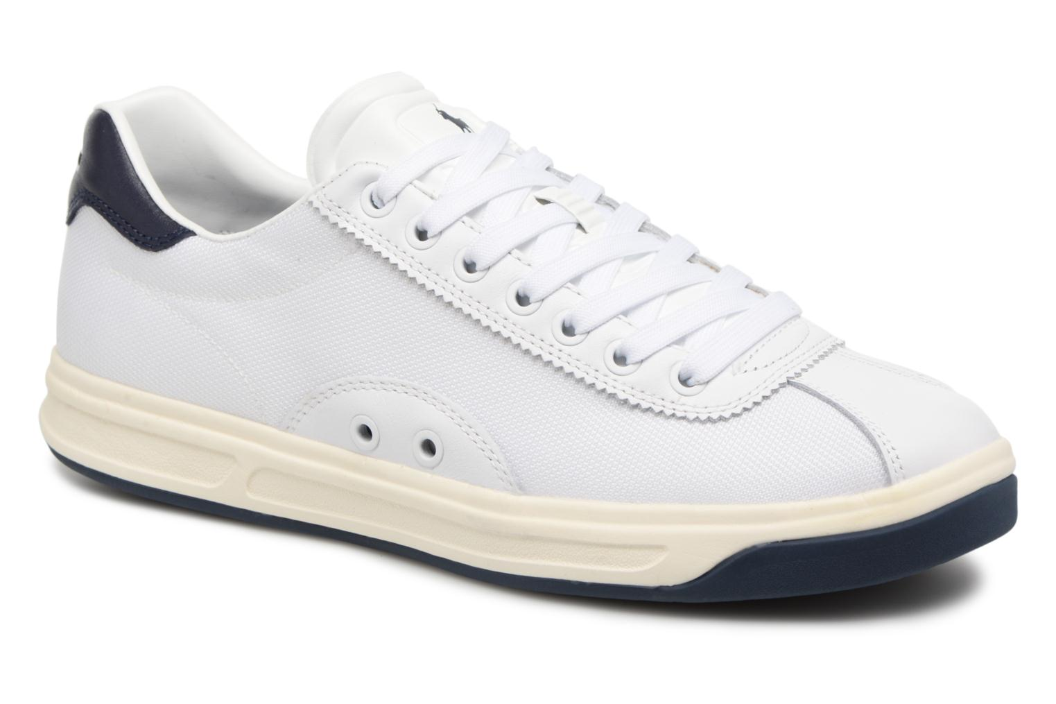Trainers Polo Ralph Lauren Court100 White detailed view/ Pair view