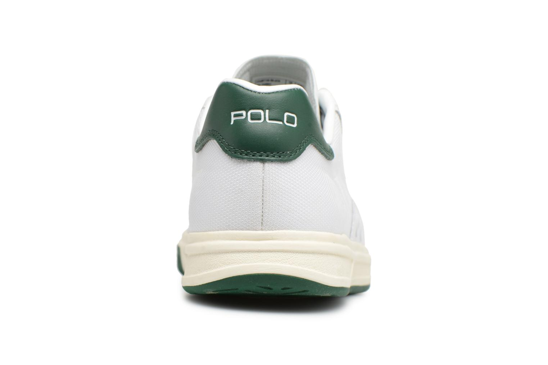 Baskets Polo Ralph Lauren Court100 Blanc vue droite