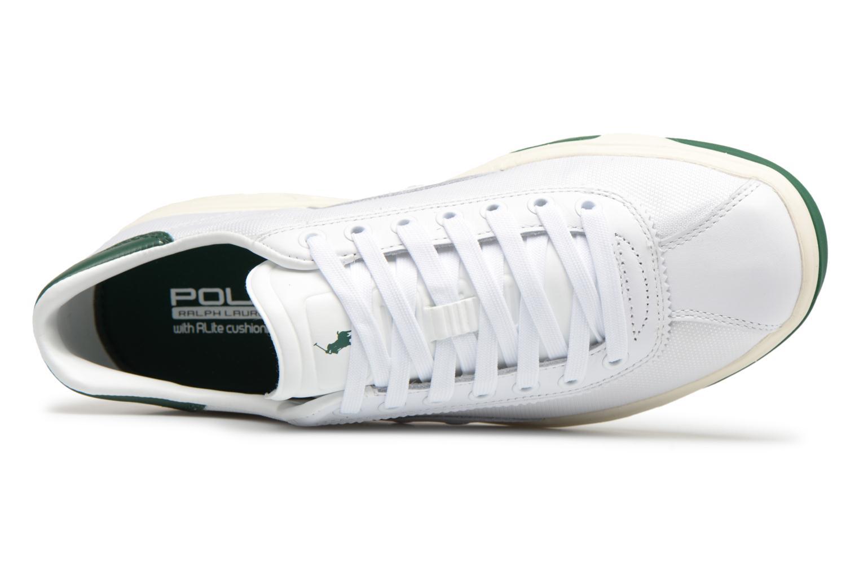 Baskets Polo Ralph Lauren Court100 Blanc vue gauche