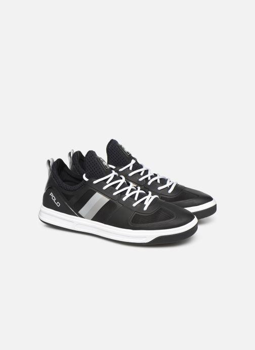 Sneakers Polo Ralph Lauren Court200 Zwart 3/4'