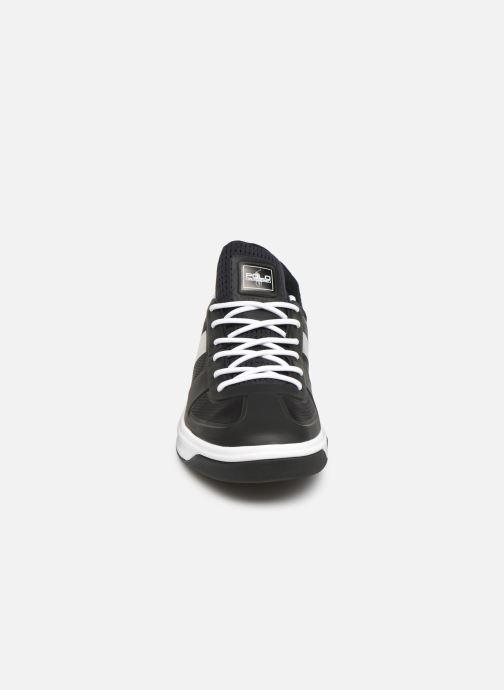 Baskets Polo Ralph Lauren Court200 Noir vue portées chaussures
