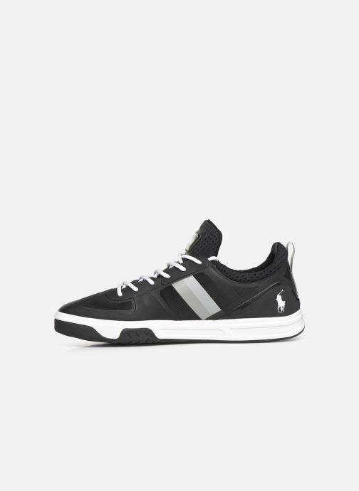 Sneaker Polo Ralph Lauren Court200 schwarz ansicht von vorne