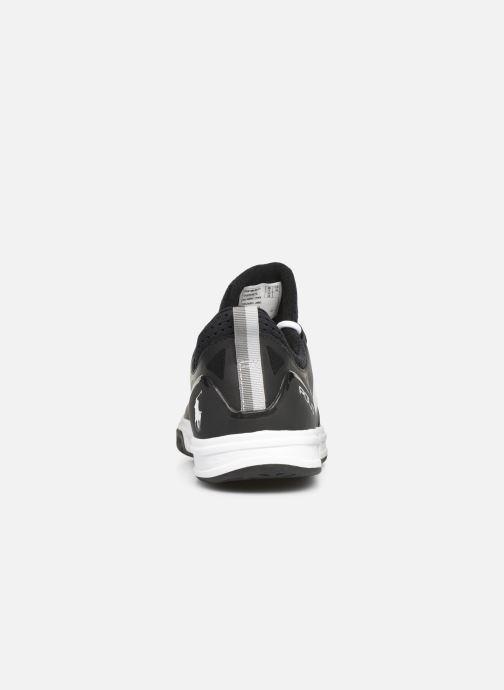 Sneaker Polo Ralph Lauren Court200 schwarz ansicht von rechts