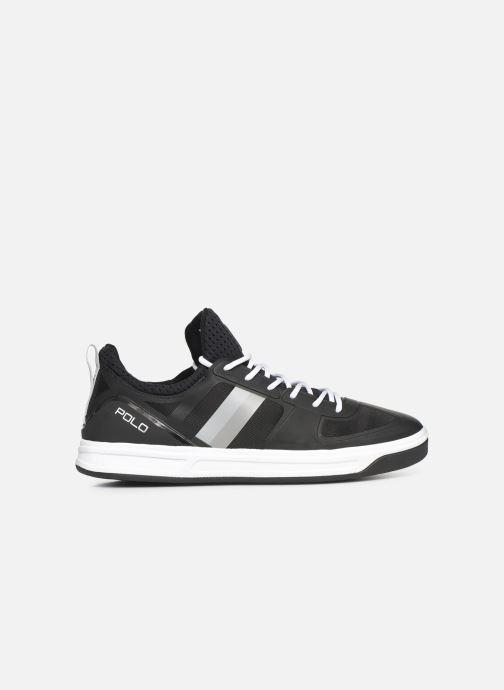 Sneaker Polo Ralph Lauren Court200 schwarz ansicht von hinten