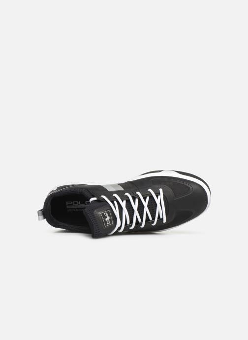 Sneaker Polo Ralph Lauren Court200 schwarz ansicht von links