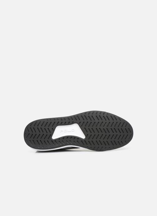Sneaker Polo Ralph Lauren Court200 schwarz ansicht von oben