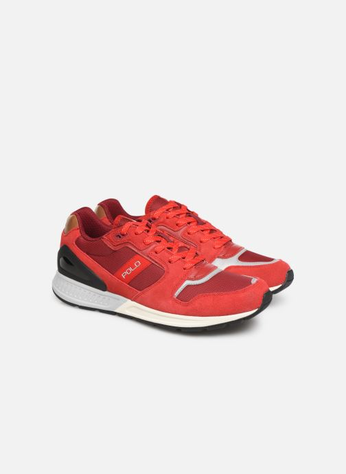 Trainers Polo Ralph Lauren Train100 Red 3/4 view