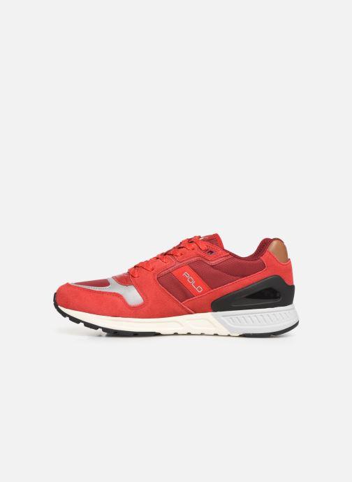 Sneakers Polo Ralph Lauren Train100 Rosso immagine frontale