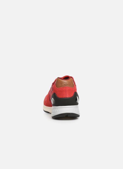 Sneakers Polo Ralph Lauren Train100 Rosso immagine destra