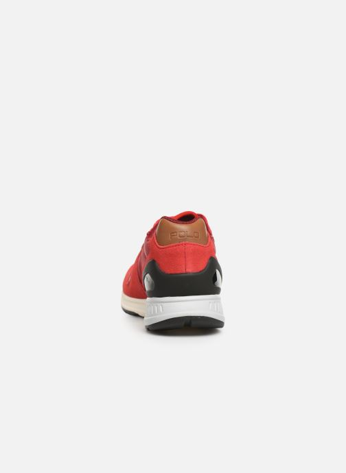 Baskets Polo Ralph Lauren Train100 Rouge vue droite