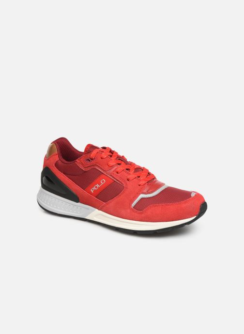 Baskets Polo Ralph Lauren Train100 Rouge vue détail/paire