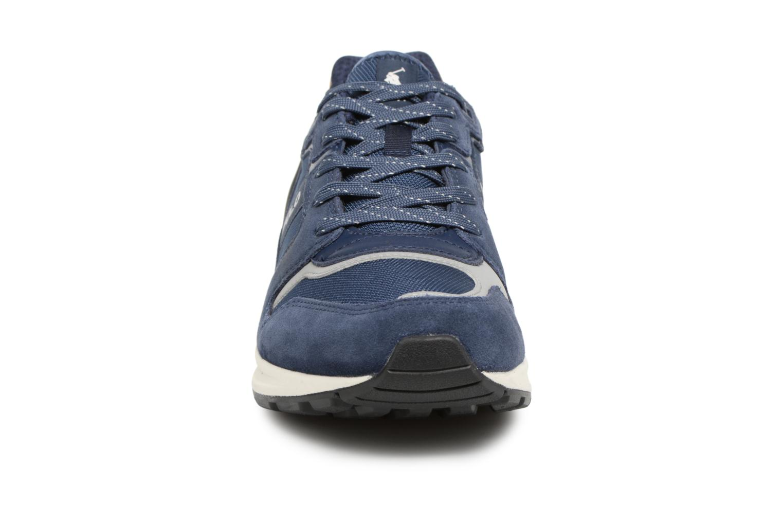 Baskets Polo Ralph Lauren Train100 Bleu vue portées chaussures