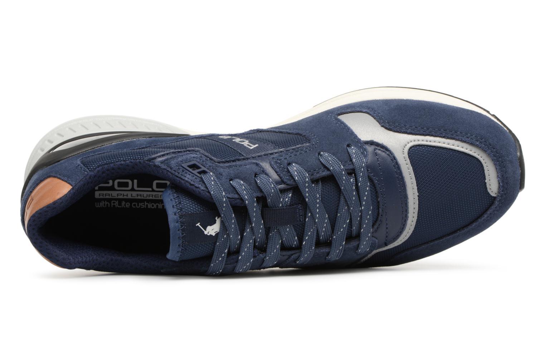 Baskets Polo Ralph Lauren Train100 Bleu vue gauche