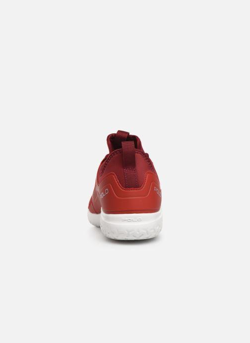 Baskets Polo Ralph Lauren Train150 Rouge vue droite