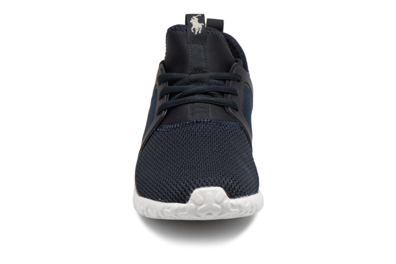 Baskets Polo Ralph Lauren Train150 Bleu vue portées chaussures