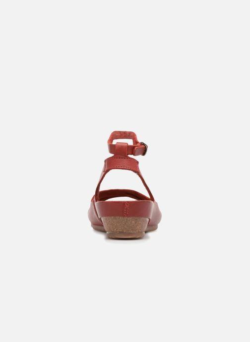 Sandales et nu-pieds Kickers Toki Rouge vue droite