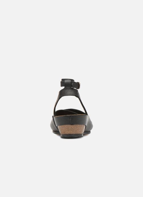 Sandales et nu-pieds Kickers Toki Noir vue droite