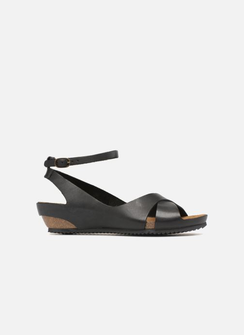 Sandales et nu-pieds Kickers Toki Noir vue derrière