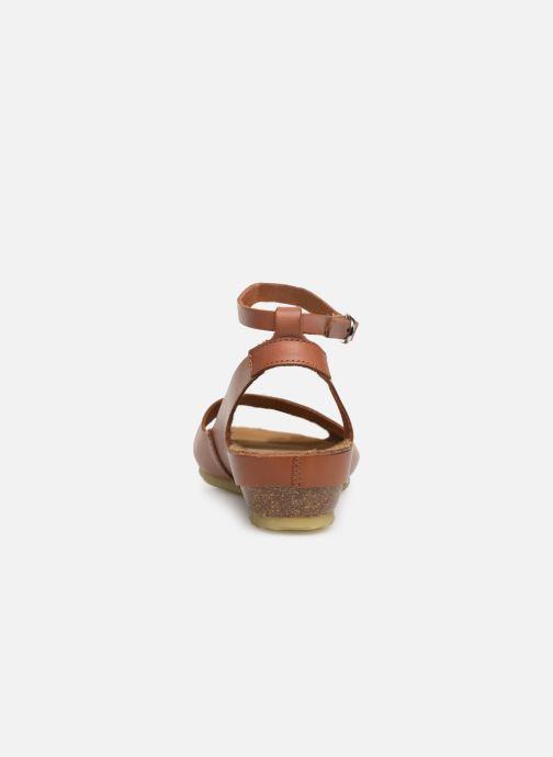 Sandales et nu-pieds Kickers Toki Marron vue droite