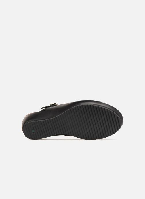Sandales et nu-pieds Kickers Tokimas Noir vue haut