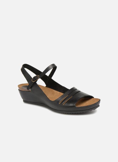 Sandales et nu-pieds Kickers Tokimas Noir vue détail/paire