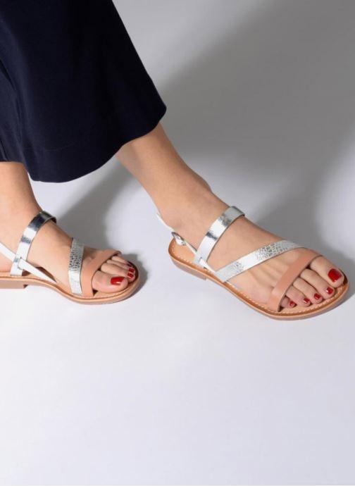 Sandalen Kickers Ethna Zilver onder