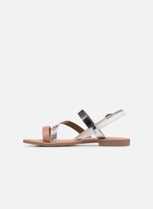 Sandalen Kickers Ethna Zilver voorkant