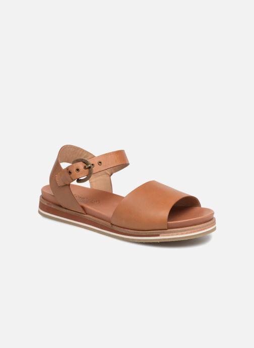Kickers Olimpi (Marron) Sandales et nu pieds chez Sarenza