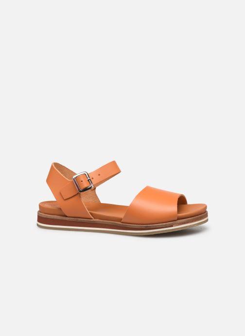 Sandales et nu-pieds Kickers Olimpi Orange vue derrière