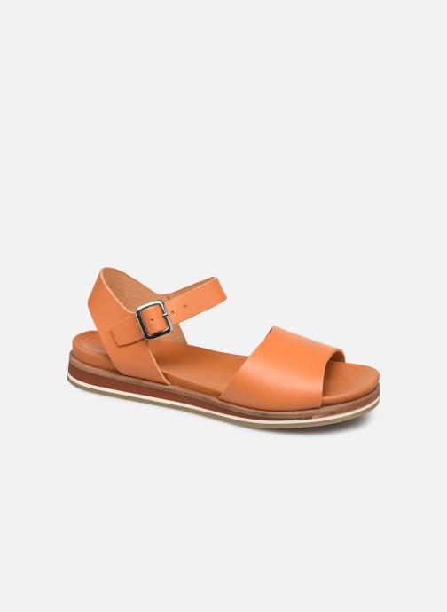 Sandales et nu-pieds Kickers Olimpi Orange vue détail/paire