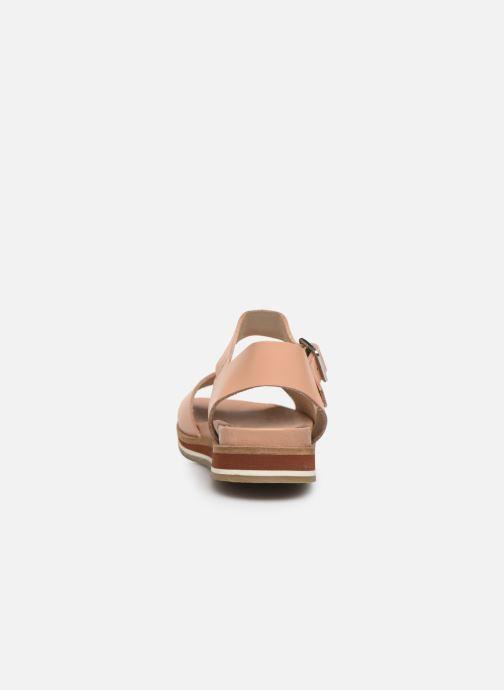 Sandales et nu-pieds Kickers Olimpi Rose vue droite