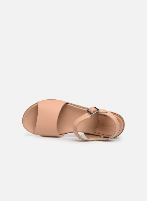 Sandales et nu-pieds Kickers Olimpi Rose vue gauche