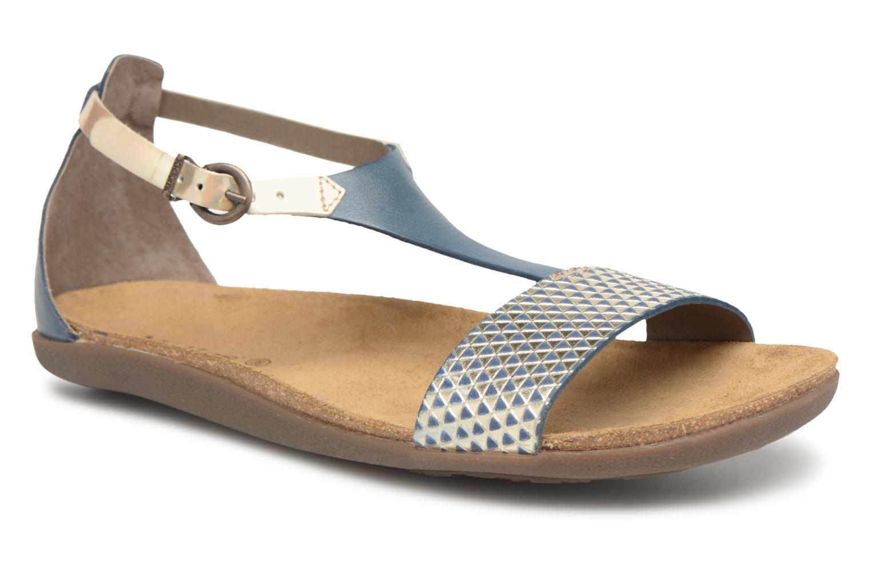 Sandales et nu-pieds Kickers Amistad Bleu vue détail/paire
