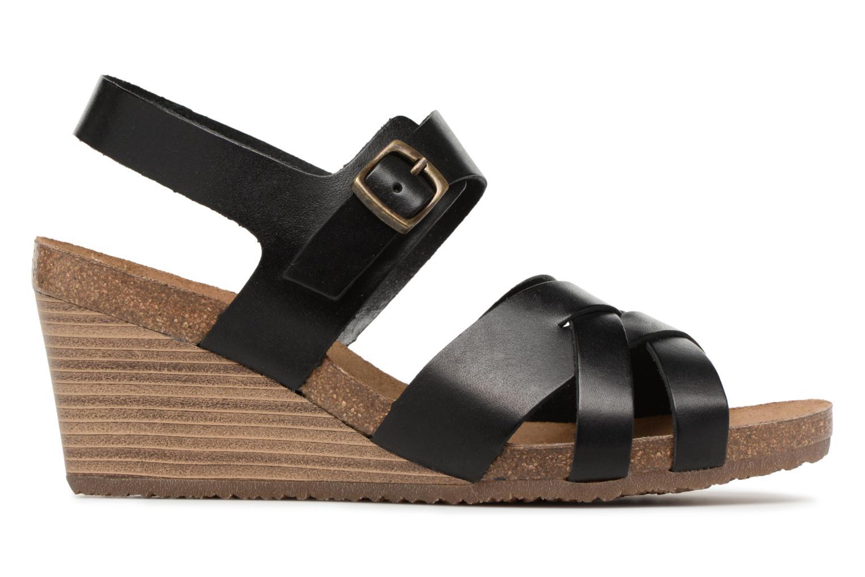Sandales et nu-pieds Kickers Spicy Noir vue derrière