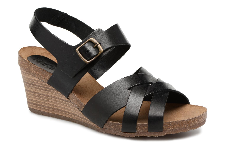 Sandales et nu-pieds Kickers Spicy Noir vue détail/paire