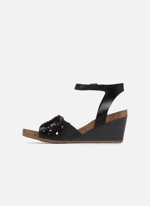 Sandales et nu-pieds Kickers Simply Noir vue face