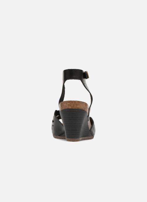 Sandales et nu-pieds Kickers Simply Noir vue droite