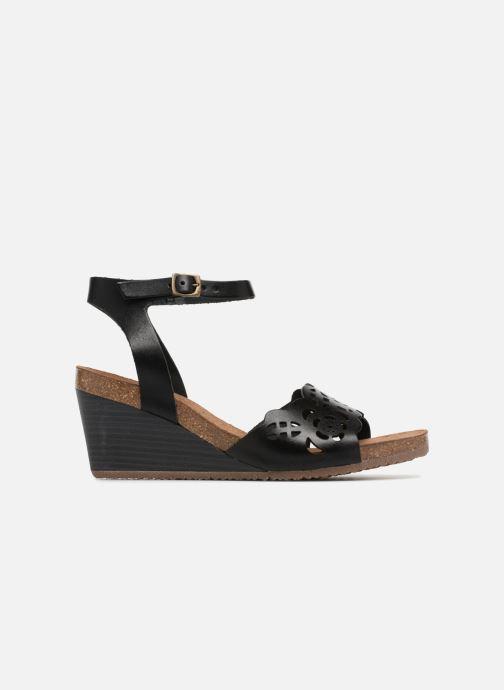 Sandales et nu-pieds Kickers Simply Noir vue derrière